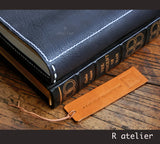 R.atelier Traveler's Notebook | A5 SIze iPad mini / Kindle Leather Journal Cover