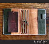 R.atelier Traveler's Notebook | A6 Size Leather Journal Cover
