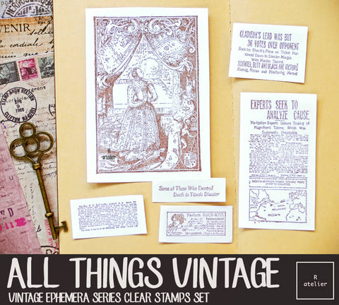 All Things Vintage (2) | Clear Stamps