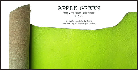 R.atelier Leather | Apple Green