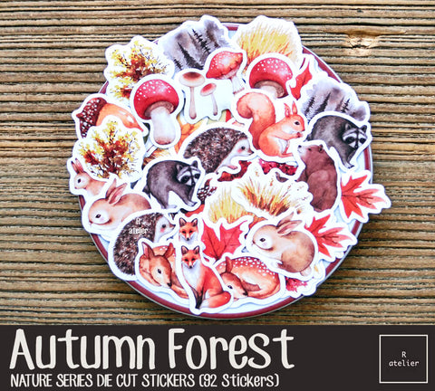 Autumn Forest | Die Cut Stickers