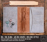 R.atelier Traveler's Notebook Leather Cover | Taupe | B6 / B6 Slim / JIS B6