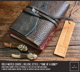 Field Notes | Leather Journal Cover | *One of A Kind* Bistre Brown | Pocket Size