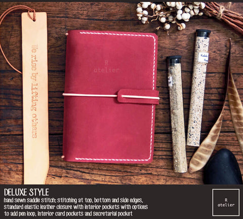 Field Notes | Leather Journal Cover | Cardinal | Pocket Size