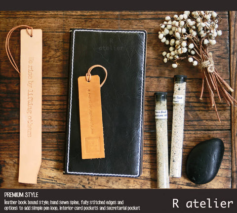R.atelier Hobonichi Techo Weeks Leather Journal Cover