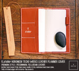 R.atelier Hobonichi Techo Weeks Leather Journal Cover | Persimmon