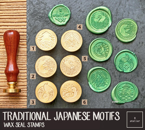 Traditional Japanese Motifs | Wax Seal Stamps