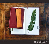 Leather Bookmark | Joan of Arc Quotes