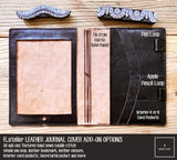 R.atelier Leather Journal / Planner Cover Add-ons Options