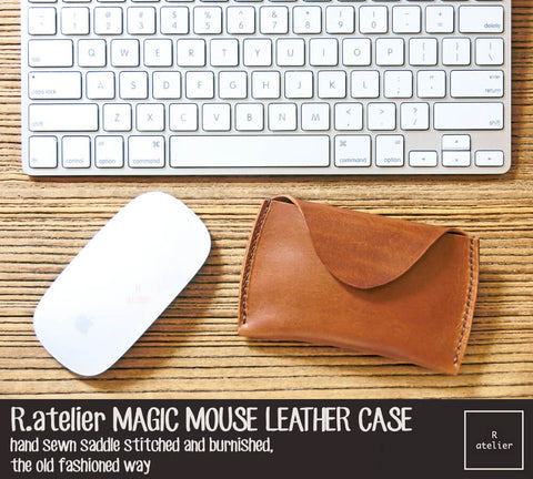 Apple Magic Mouse Premium Leather Case / Pouch