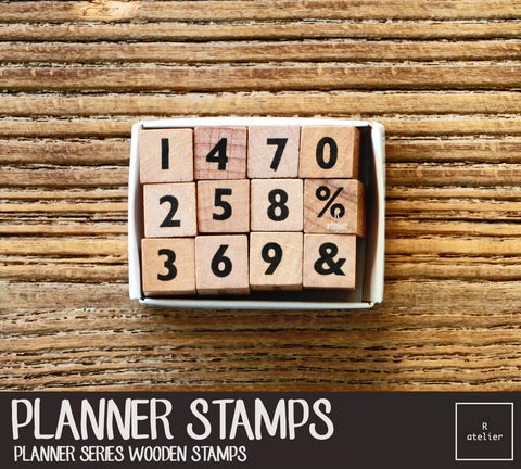 Passion Planner (3) Wooden Stamps