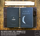 Field Notes Pocket Size Leather Journal Cover | Auburn