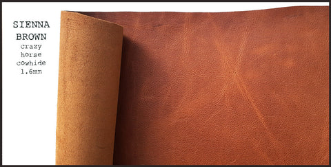 R.atelier A6 Traveler's Notebook Leather Journal Cover | Sienna Brown