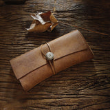 Handmade Leather Clutch Wallet