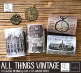 All Things Vintage Washi Tapes | 6cm x 7m