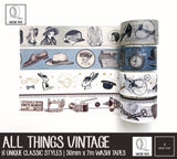 All Things Vintage Washi Tapes | 30mm x 7m