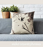Chinoiserie Nature Inspired | Throw Pillow Cover