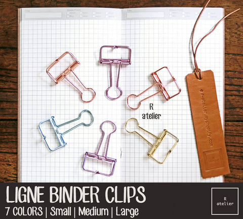 Ligne Binder Paper Clips Value Pack