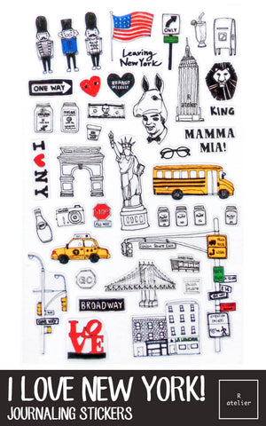 I Love New York! Stickers