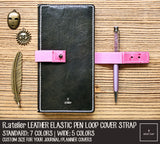 Leather Elastic Pen Loop Cover Strap