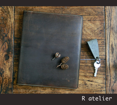iPad Mini Leather Portfolio Case | A5 Notepad Portfolio