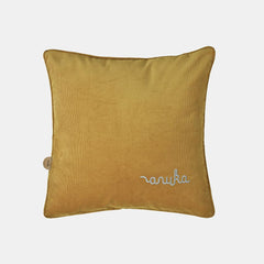 ANUKA CORD CUSHION <br> MUSTARD