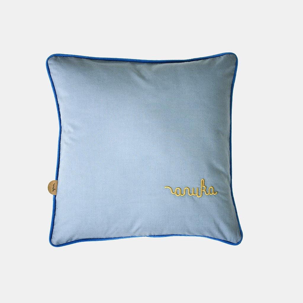 ANUKA CUSHION <br> STONE BLUE