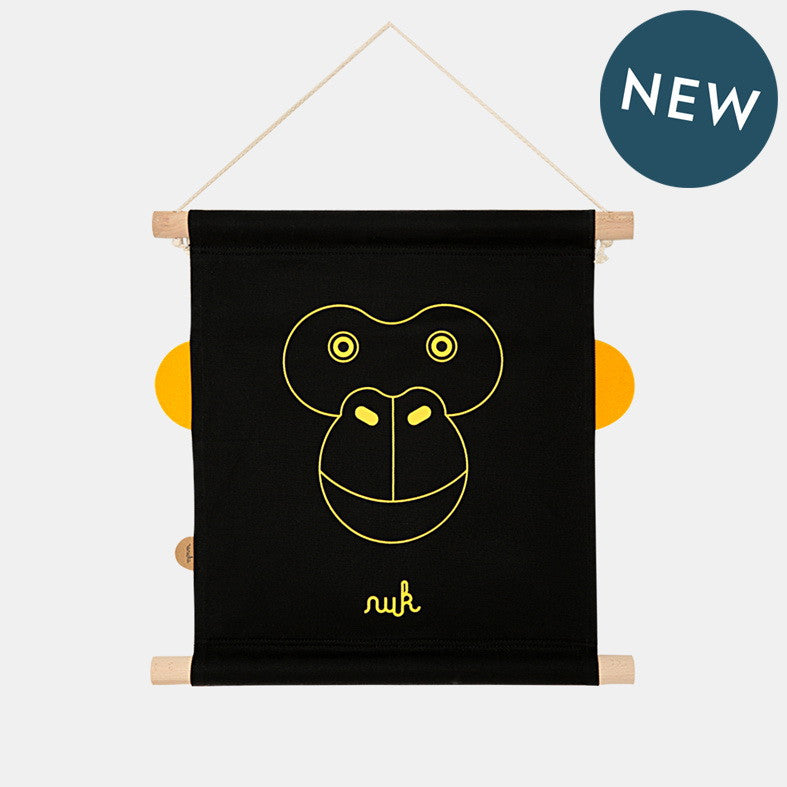 Mr. NUK WALL DECO <br> BLACK