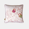 BIRDS COUPLE CUSHION <br> CLOUD PINK