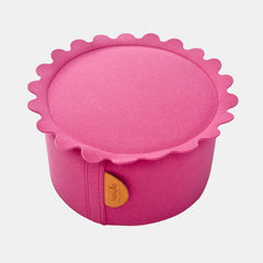 BISCUIT POUF <br> PINK