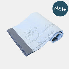 SLEEPY UKKU BLANKET <br> BABY BLUE