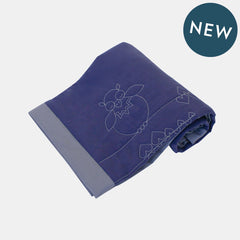SLEEPY UKKU BLANKET <br> INK BLUE