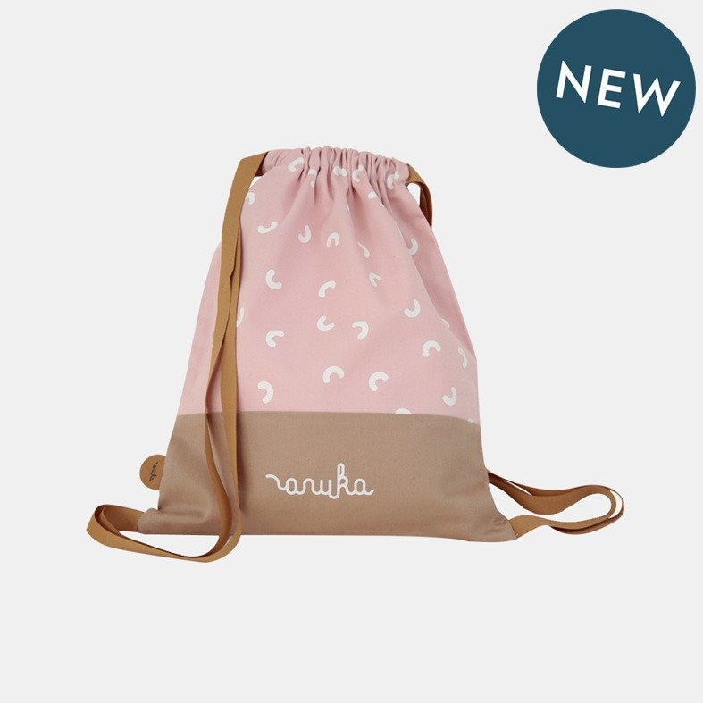 HORSESHOES BACKPACK <br> PINK SUCRE