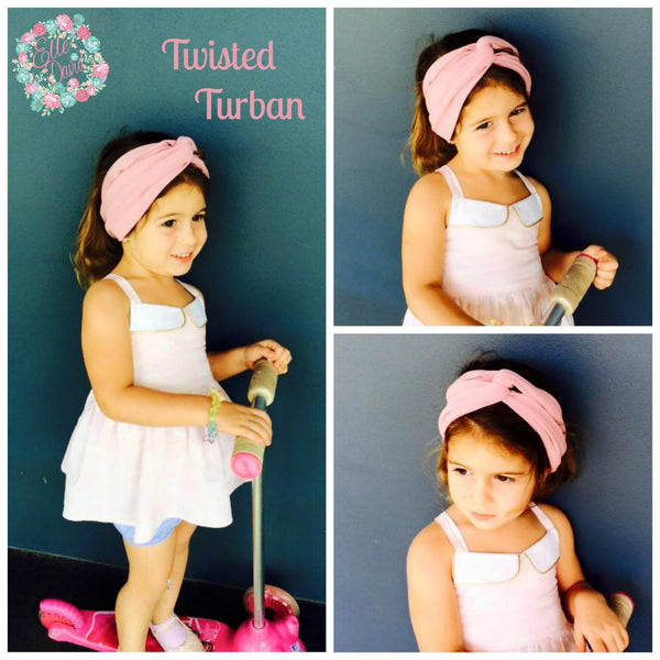 Turban ~ Twisted Headband  ~ Custom Order ~  Your choice of Fabric