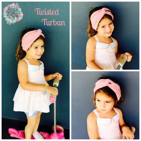 The Twisted Turban Headband  ~ Custom Order ~  Your choice of Fabric