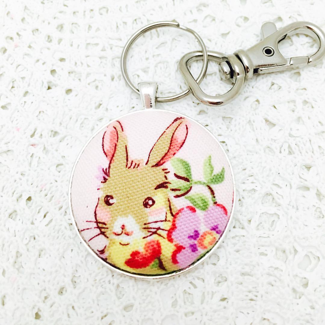 Key Rings ~ Custom Order ~  Your choice of Fabric
