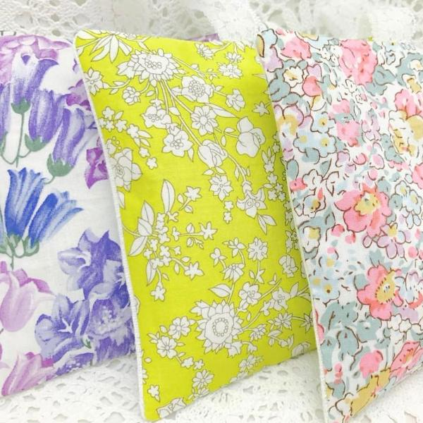 Lavender Pillows ~ Liberty of London Set of 3
