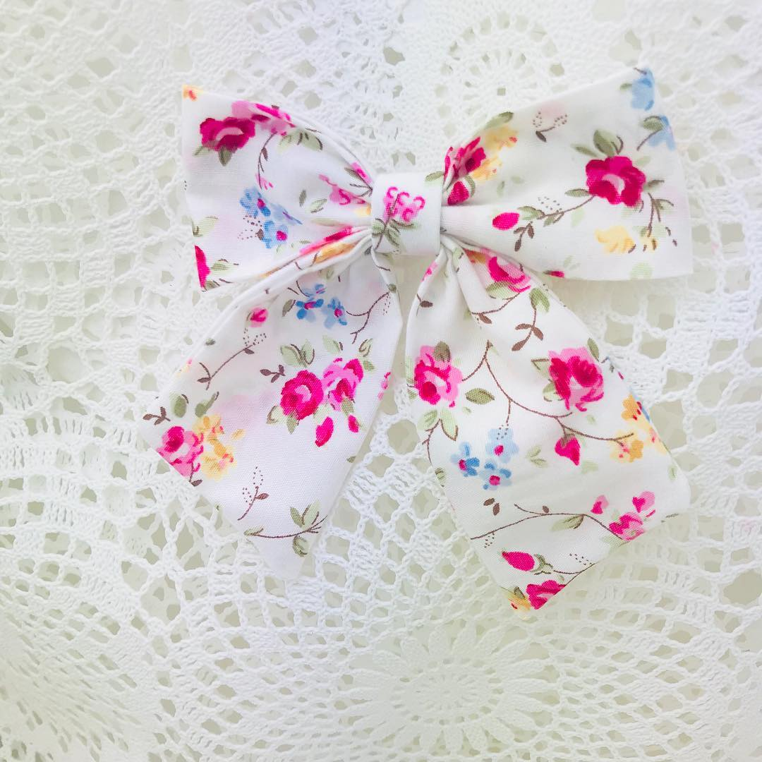 Ponytail Bows ~ Custom Order ~  Your choice of Fabric