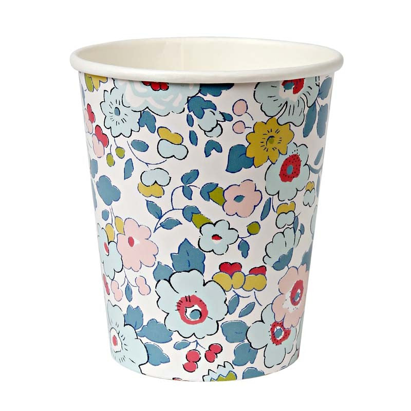 Liberty Betsy Blue Party Cups