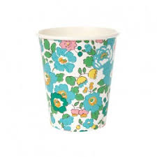 Liberty Betsy Green Party Cups