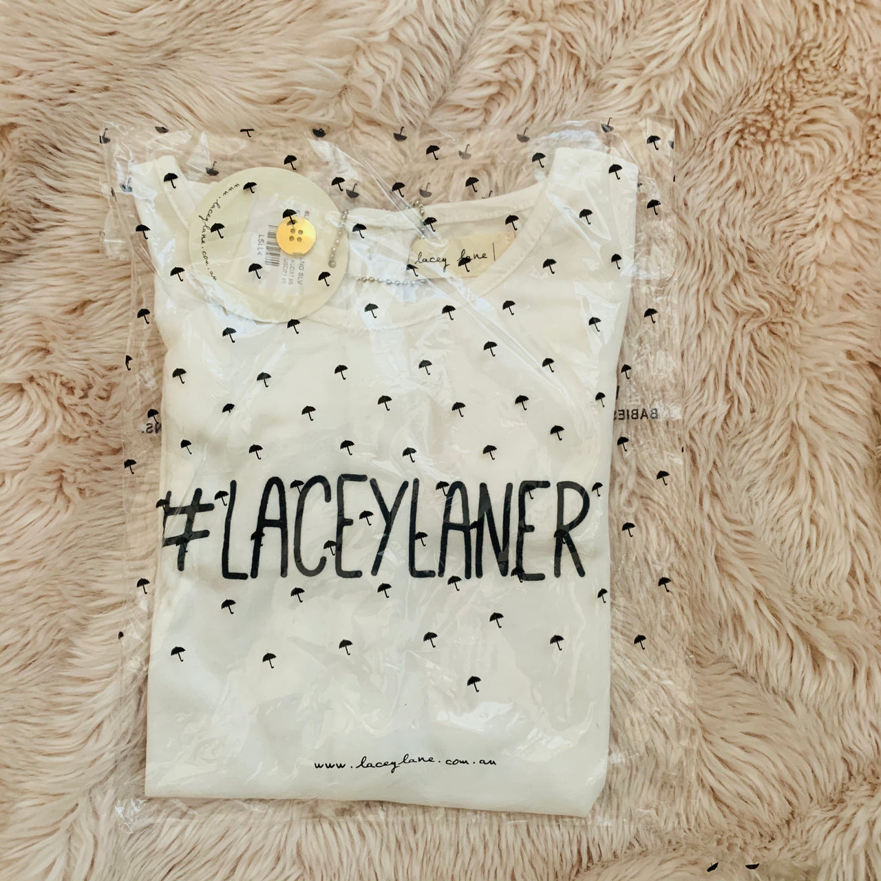 Destash - Lacey Lane - BNWT - Size 4 Long Sleeve #Laceylaner top