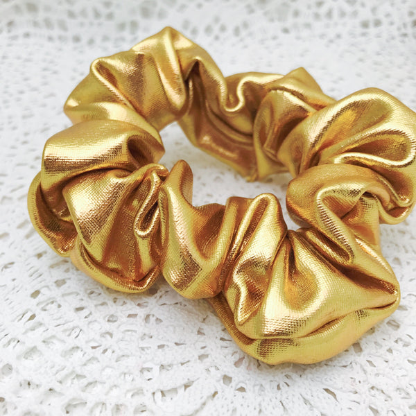 Scrunchie ~ Gold