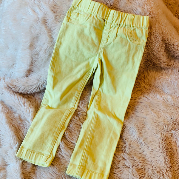 Destash - Witchery Kids - yellow jeans- EUC - Size 3