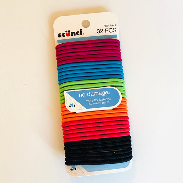 Destash - Scunci - Thick Coloured Elastics