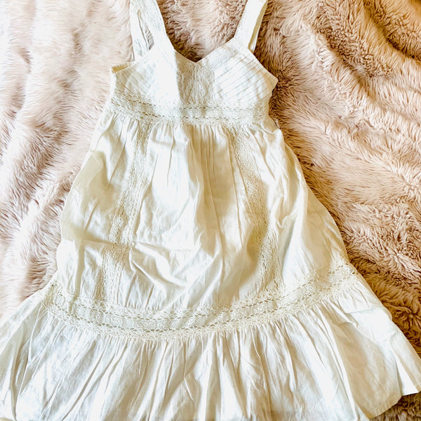 Destash - GAP - BNWT - Size 2 - White Dress with Bloomers