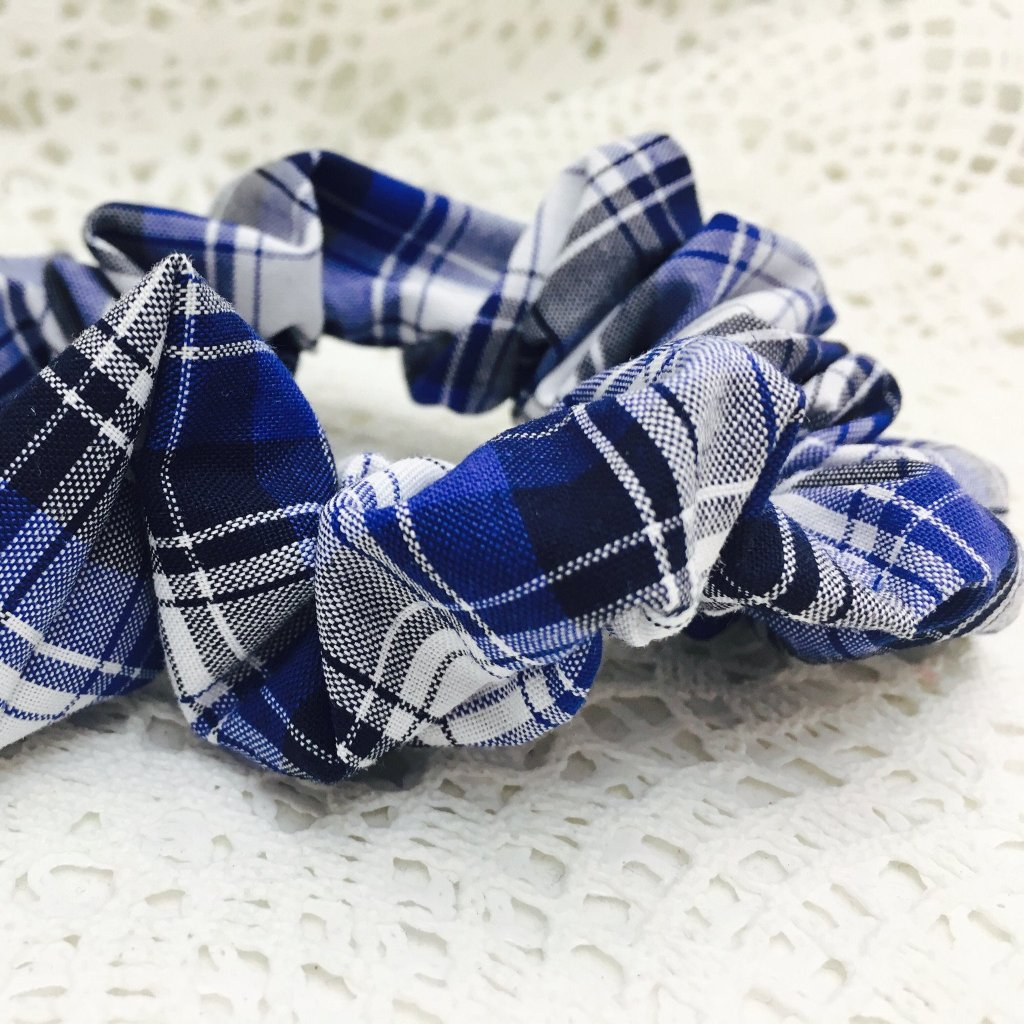Scrunchie ~ School Fabrics