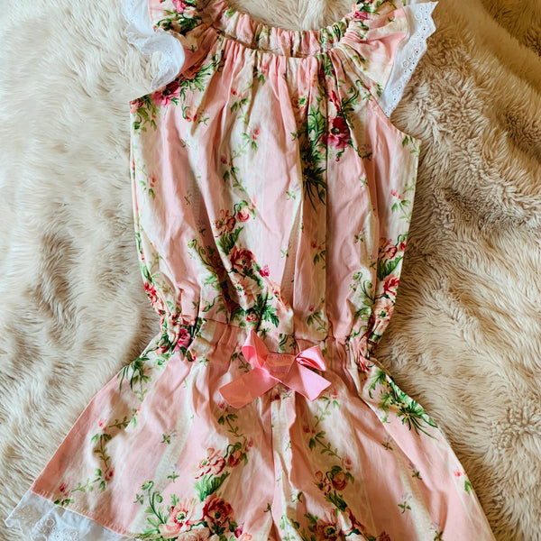 Destash - Sugar Plum Tree -  EUC - size 4 Playsuit