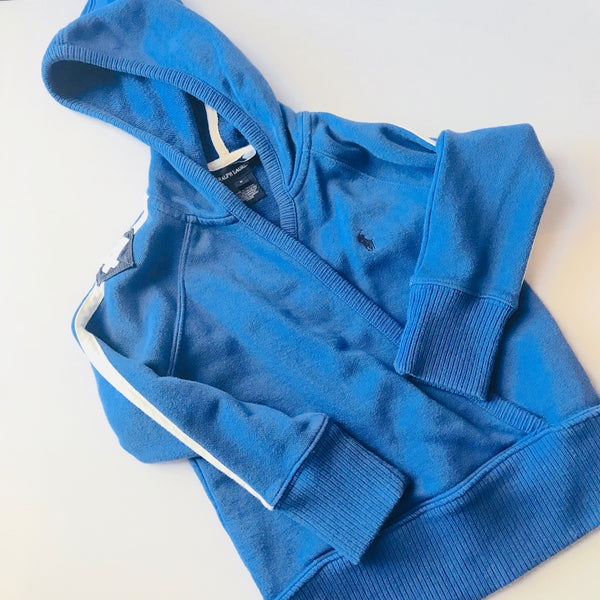 Destash - Ralph Lauren Cross Over Hoodie - EUC - Size 5