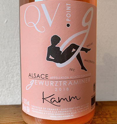 QV Point G Gewurztraminer - Kamm J.Louis et Eric - Vinoir Shop