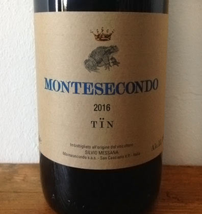 Tin - Montesecondo - vinoirshop